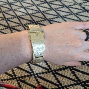 Gold Clasp Buckle Watch - Vintage Prince Gardner